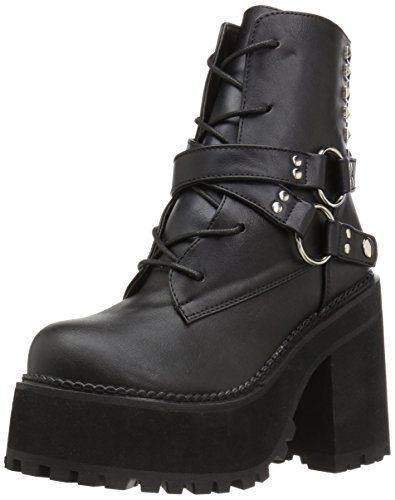 Demonia Assault-101 Boots schwarz, Schwarz, 38 EU