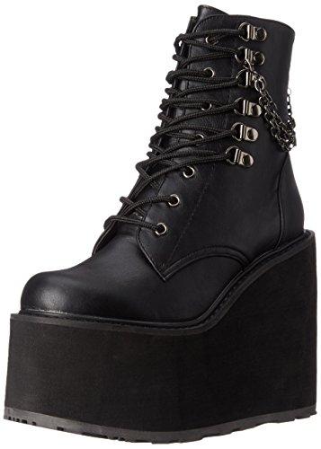 Demonia Damen Swing-101 Kurzschaft Stiefel, Schwarz (Schwarz (Blk Vegan Leather)), 39 EU