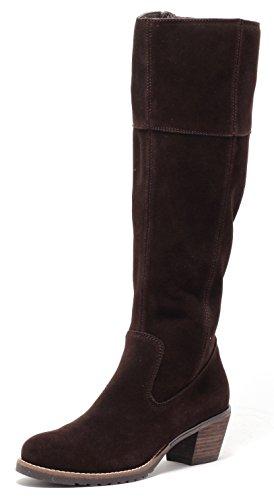 ECHT LEDER Damen Stiefel Lederstiefel Country Style Gr.37-39 DUNKELBRAUN BRAUN