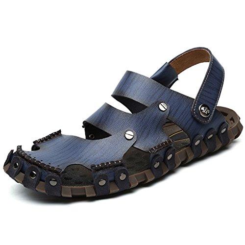 Eagsouni™ Slide Sandal Herren Freizeit Hausschuhe Sandalen Outdoor Sommer Strand Pantolette Schuhe