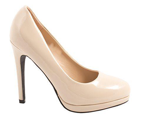 Elara Bequeme Pumps | Klassische Lack Stilettos | High Heels