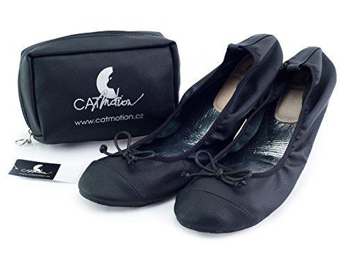 Faltbare Schuhe für die Handtasche CatMotion, Damen-Ballerinas, faltbare Ballerinas, Schuhe für die Tasche, mehrere Farben (Gr. 36-43)