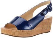 Högl Damen 3-10 3205 3200 Plateau Sandals, Blau (blue3200), 40 EU