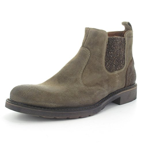 LLOYD 26-574-34 Frank - Fashion-Chelseaboot - Velourleder cigar/espresso