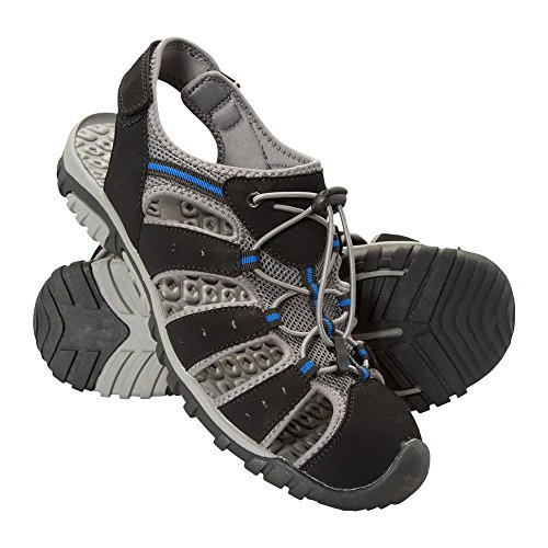 Mountain Warehouse Trek Herren-Sandale Schwarz 43