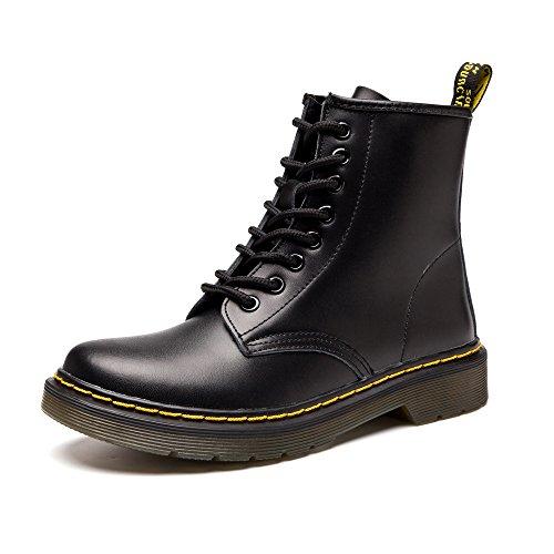 SITAILE Unisex-Erwachsene Bootsschuhe Derby Schnürhalbschuhe Kurzschaft Stiefel Winter Boots für Herren Damen