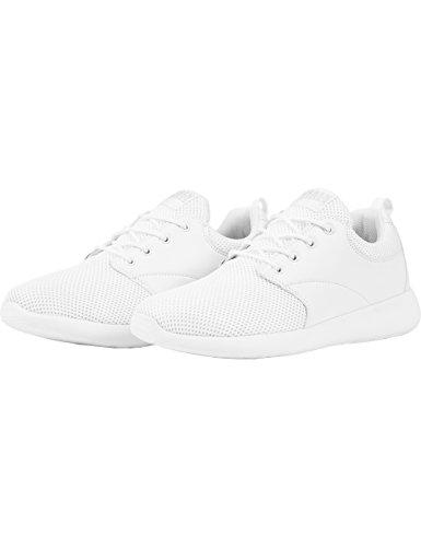 Urban Classics Damen und Herren Light Runner Shoe, Unisex Low-Top Sneaker, Sportschuhe mit Schnürung