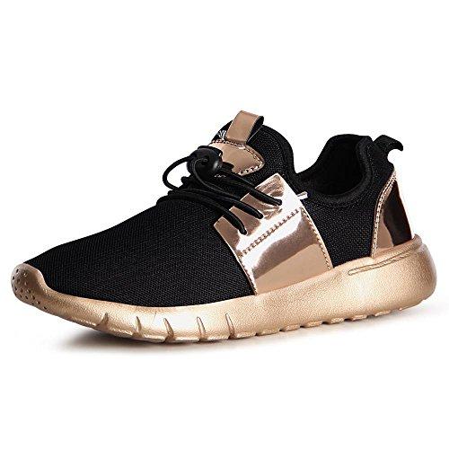 topschuhe24 1055 Damen Turnschuhe Sneaker Sportschuhe