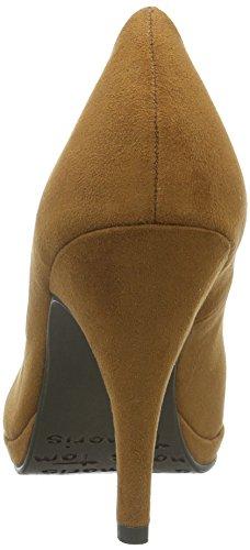 Tamaris Damen 22407 Pumps, Braun (Camel 310), 40 EU
