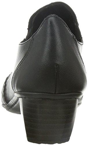 Rieker 41730, Damen Slipper, Schwarz (schwarz/schwarz/00), 40 EU (6.5 Damen UK)