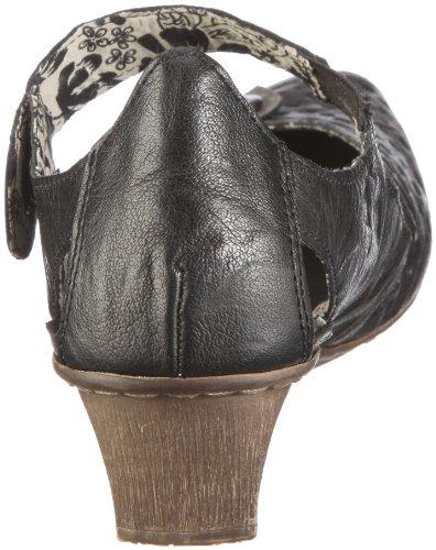 Rieker 49772-00, Damen Pumps, Schwarz (schwarz/dust 00), EU 40