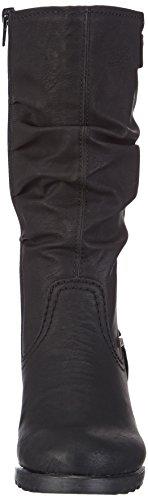 Rieker Y8086 Damen Langschaft Stiefel, schwarz (schwarz/brandy/00), 39 EU (6 Damen UK)