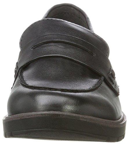 Tamaris Damen 24600 Slipper, Schwarz (Black Matt), 39 EU