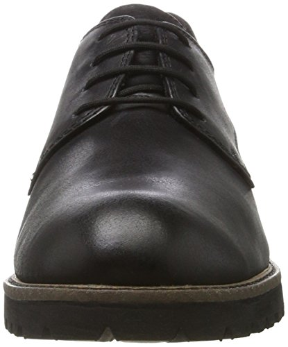 Tamaris Damen 23204 Oxfords, Schwarz (Black Leather), 40 EU