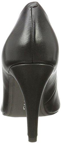 Tamaris Damen 22473 Pumps, Schwarz (Black Leather), 38 EU