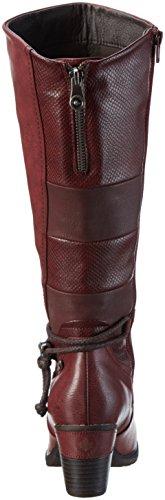 Rieker Damen 96058 Langschaft Stiefel, Rot (Wine/Pomerol/Bordeaux / 35), 38 EU