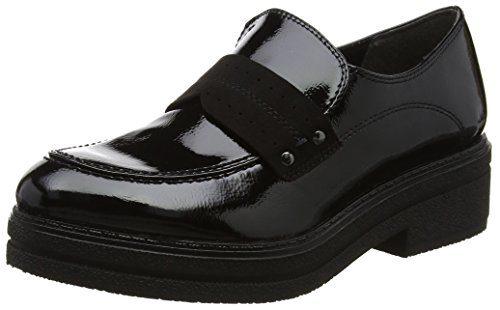 Tamaris Damen 24710 Slipper, Schwarz (Black), 39 EU