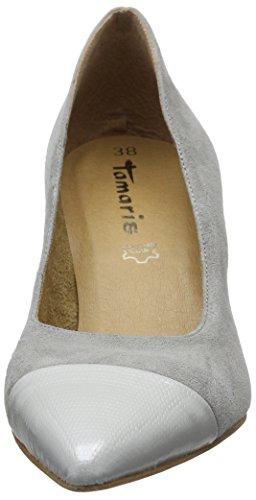 Tamaris Damen 22427 Pumps, Grau (Grey 200), 39 EU