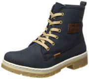 Rieker Damen Y9410 Stiefel, Blau (Pazifik/Mogano), 41 EU