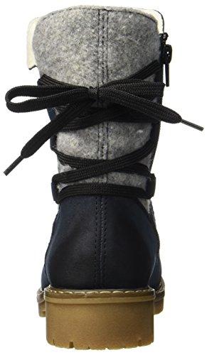Rieker Damen Y9160 Stiefel, Blau (Pazifik/Fog), 38 EU