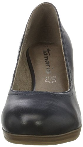 Tamaris Damen 22410 Pumps, Blau (Navy 805), 41 EU