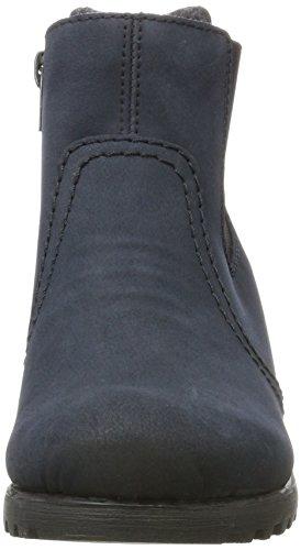 Rieker Damen Y8064 Stiefel, Blau (Pazifik), 42 EU