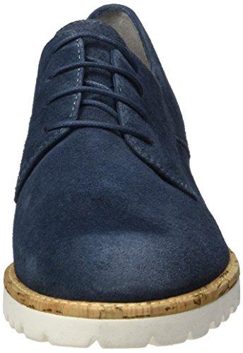 Tamaris Damen 23208 Oxford, Blau (Denim 802), 39 EU