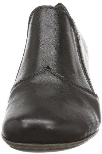 Rieker 41751 Women Loafers, Damen Slipper, Schwarz (nero/01), 38 EU