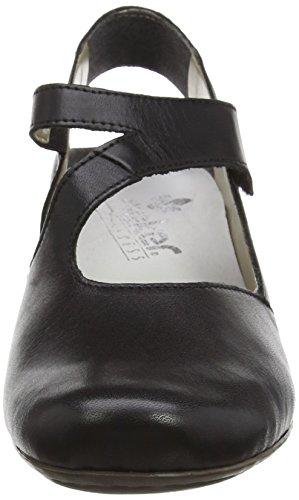 Rieker 41779 Women Sling Back, Damen Slingback Pumps, Schwarz (nero/schwarz/00), 40 EU