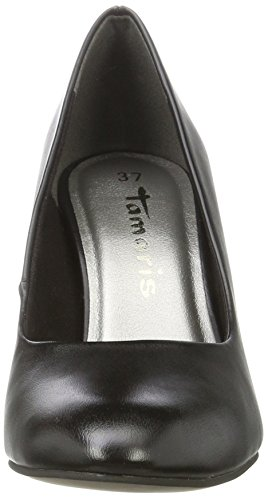 Tamaris Damen 22465 Pumps, Schwarz (Black Matt), 39 EU