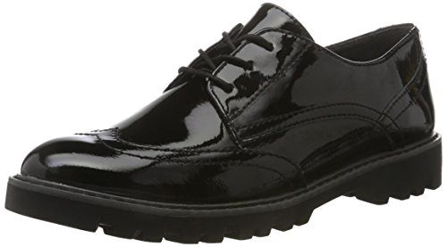 Tamaris Damen 23664 Oxfords, Schwarz (Black), 40 EU