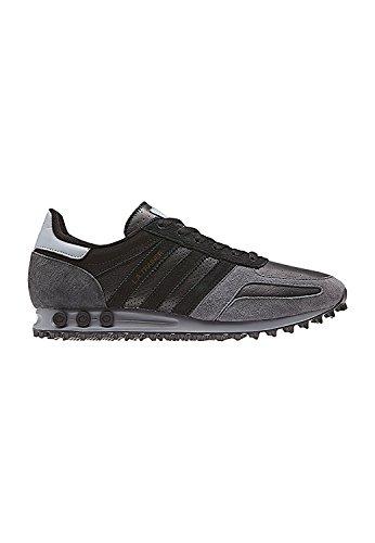 adidas Herren LA Trainer Gymnastikschuhe, Schwarz (Core Black/Core Black/Grey Five F17), 43 1/3 EU