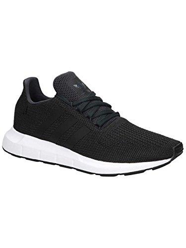 adidas Herren Swift Run Laufschuhe, Grau (Carbon S18/Core Black/Medium Grey Heather), 42 EU