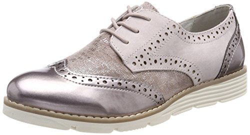 s.Oliver Damen 23623 Oxfords, Pink (Rose Comb), 39 EU