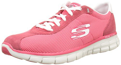 Skechers Damen Synergy-Case Closed Laufschuhe, Pink, 37 EU