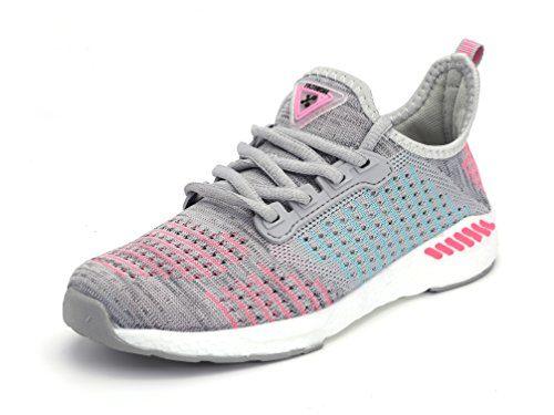 unisex Sportschuhe Atmungsaktives Mesh Wander Belüftung Trekking Wanderhalbschuhe Sneakers Outdoorschuhe Casual Schuhe Sommerschuhe, 40 EU, Farbe: Grau