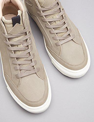 FIND Sneaker Herren High Tops mit Retro-Design, Grau (Grey), 43 EU