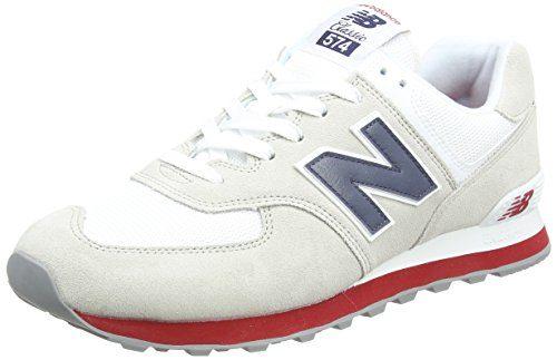 New Balance Herren Ml574E Sneaker, Mehrfarbig (Moontide/ML574ESA), 42 EU