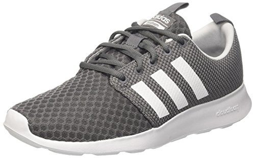 adidas Herren Cloudfoam Swift Racer Laufschuhe, Grau (Grey Four/Core Black/Footwear White 0), 45 1/3 EU