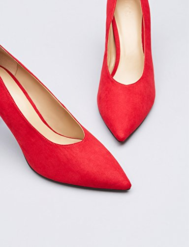 FIND Damen Pumps, Rot, 37 EU