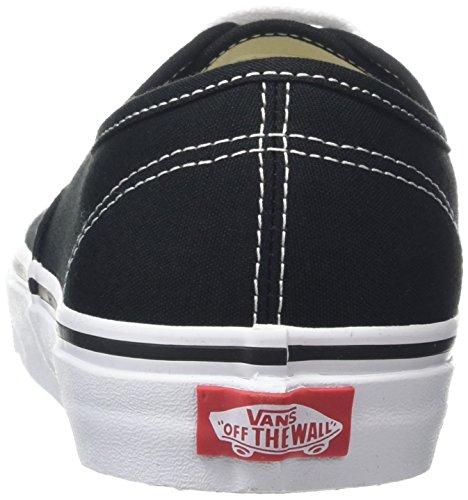 Vans AUTHENTIC VEE3 Unisex-Erwachsene Sneakers, schwarz/weiß, EU 38