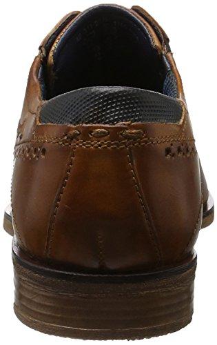 Bugatti Herren 311251011100 Derby, Braun (Cognac 6300), 42 EU