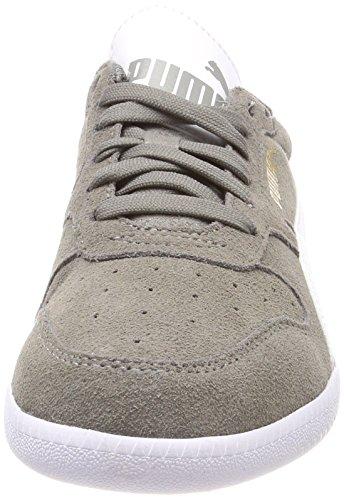 Puma Unisex-Erwachsene Icra Trainer SD Sneaker, Grau (Steel Gray White 34), 44.5 EU