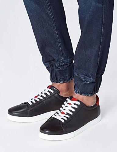 FIND Sneaker Herren mit Retro-Design und Colour-Blocking, Blau (Blue), 45 EU