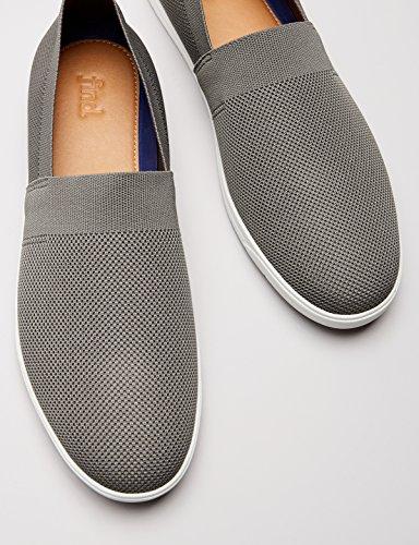 FIND Herren Espadrilles Slipper, Grau (Grey), 41 EU