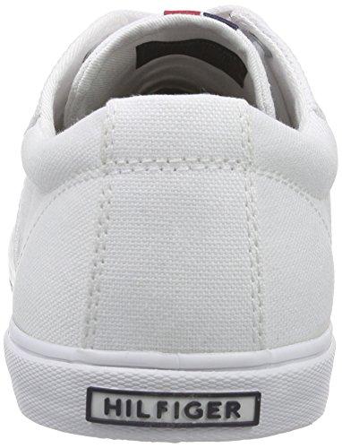 Tommy Hilfiger Harry 9D, Herren Sneakers, Weiß (White_100), 43 EU