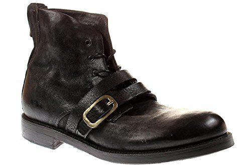 A.S 98 Samurai 347232 - Herren Stiefel Stiefelette Biker Boots - 0001smokenero, Größe:42 EU