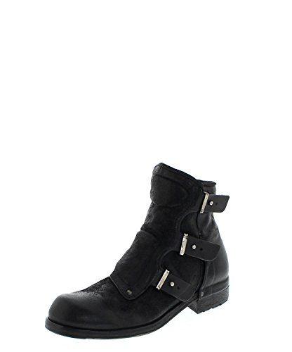 A.S.98 409206 Nero/Herren Stiefelette Schwarz/Herrenschuhe/Herren Boots, Groesse:45