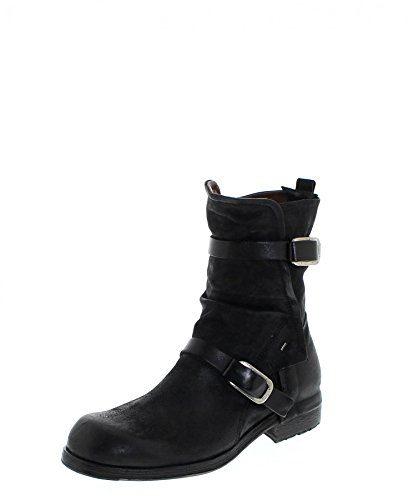 A.S.98 409208 Nero/Herren Stiefelette Schwarz/Herrenschuhe/Herren Boots, Groesse:44