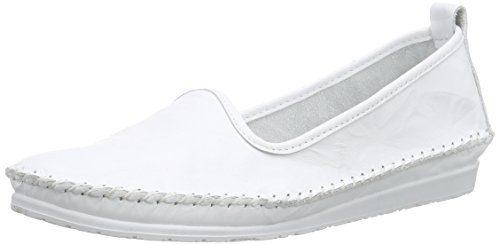 Andrea Conti 0027449, Damen Slipper, Weiß (Weiß 001), 37 EU